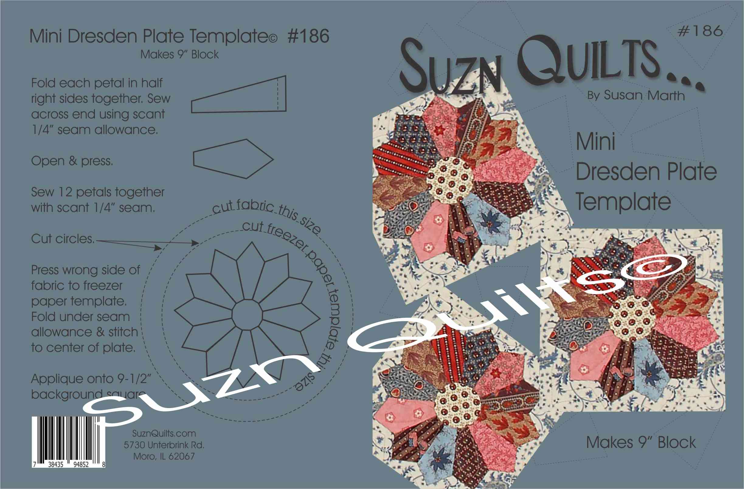 New Template Mini Dresden Plate 186 Quilting My Way Through Life