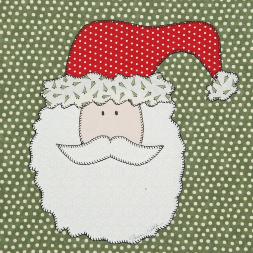 Santa Christmas Table Runner Free Quilt Pattern Quilting