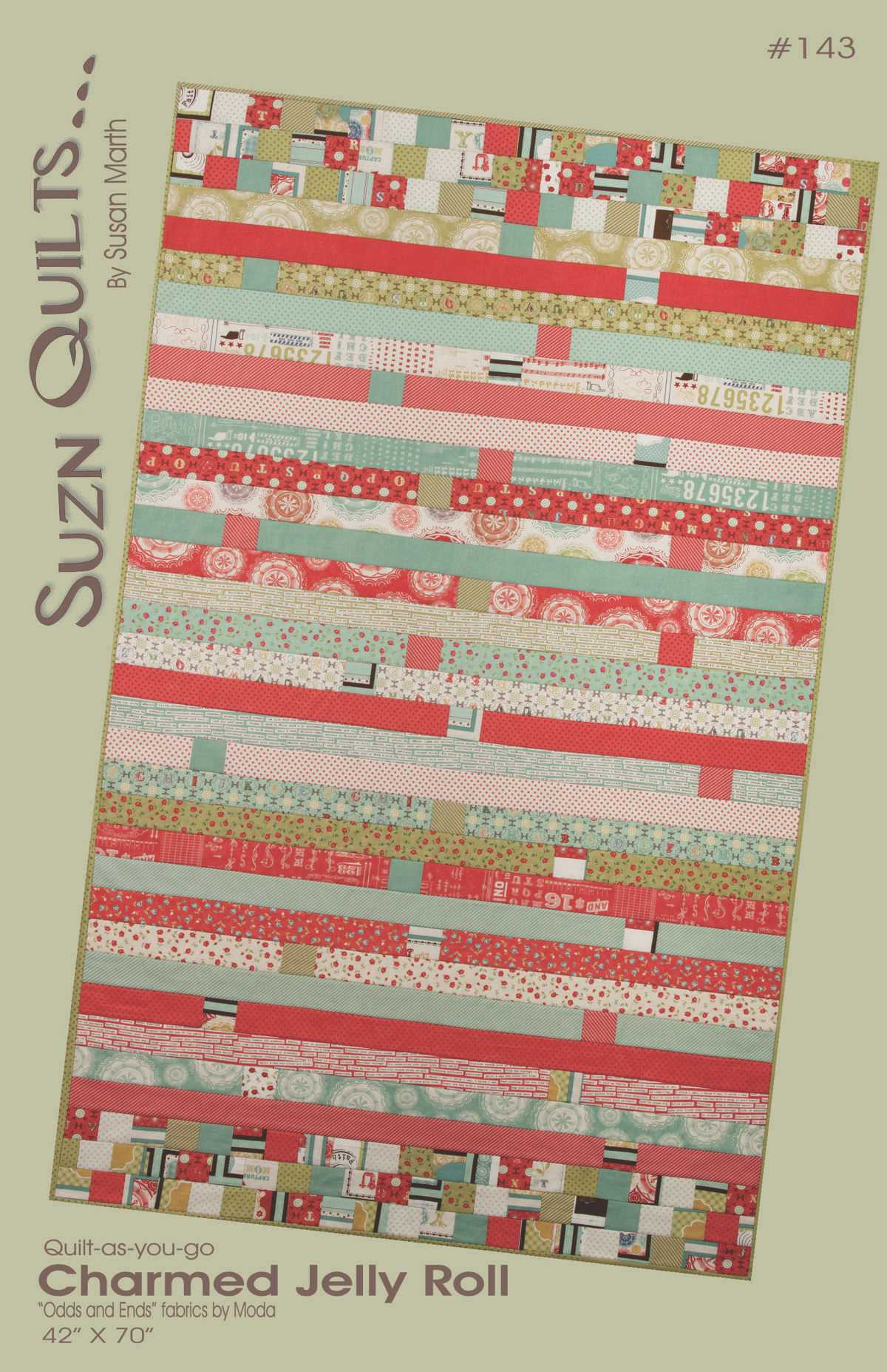 New Pattern for Fall Market – Charmed Jelly Roll | Quilting my way ... : jelly roll fabrics for quilting - Adamdwight.com