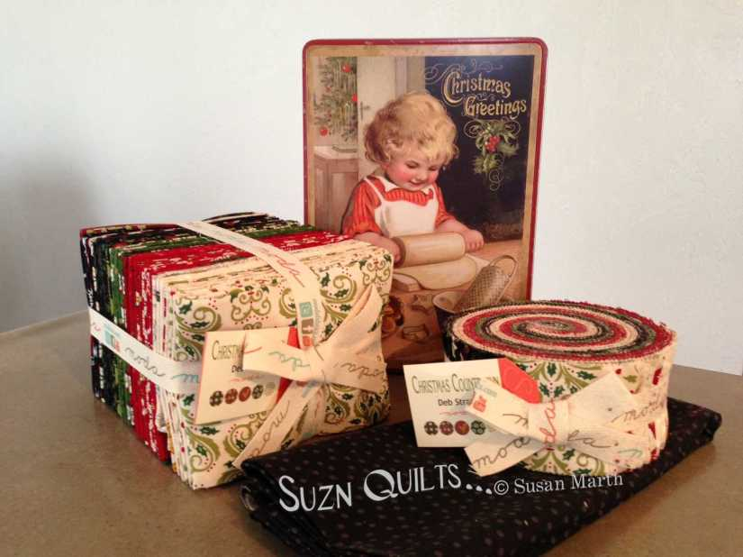 Christmas Countdown fabrics 2013