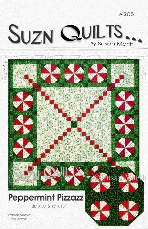 Peppermint Pizzazz #205CoverWatermark web