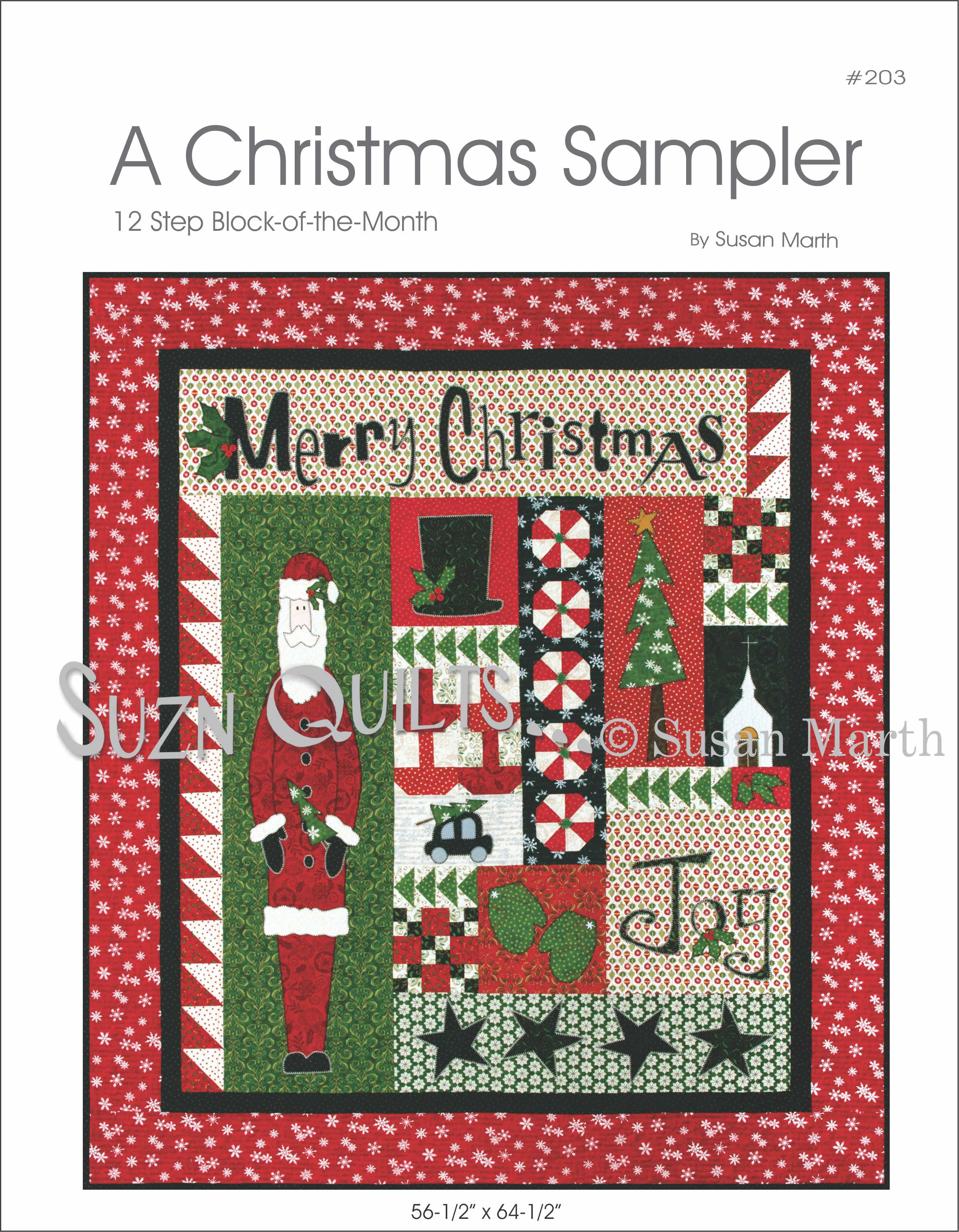 Christmas Block Of The Month Pattern Quilting My Way Through Life