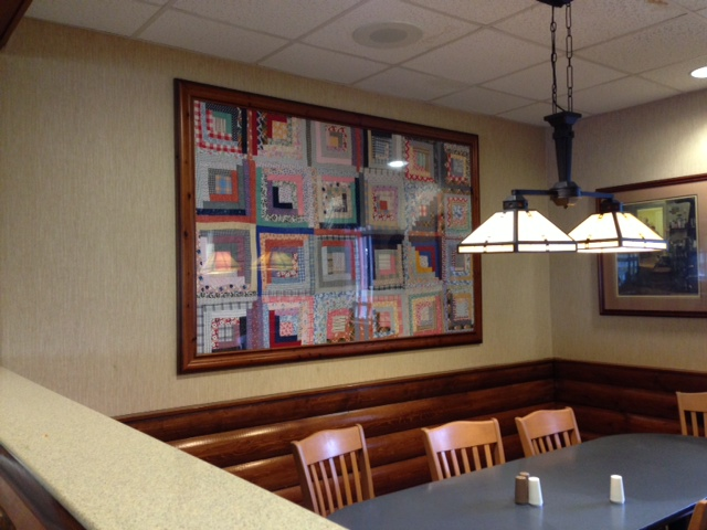 Denver quilt at McDs