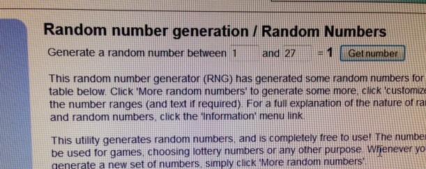 random #1