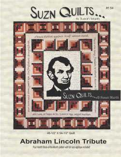 Suzn+Quilts+Abraham+Lincoln+Tribute+Cover