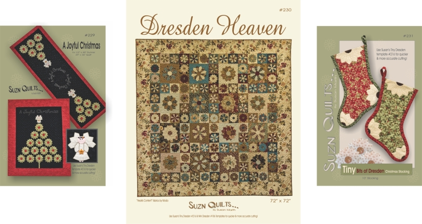 Suzn+Quilts+Patterns+Tiny+Dresden+Images