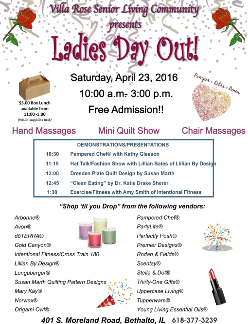 Villa+Rose+Ladies+Day+Out+Flyer