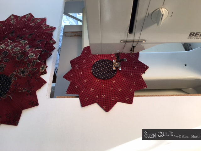 Suzn+Quilts+stitching+red+Dresden