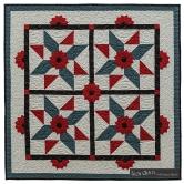 Suzn+Quilts+Dresden+Quilt+Workshop+Star+Spangled+Dresdens